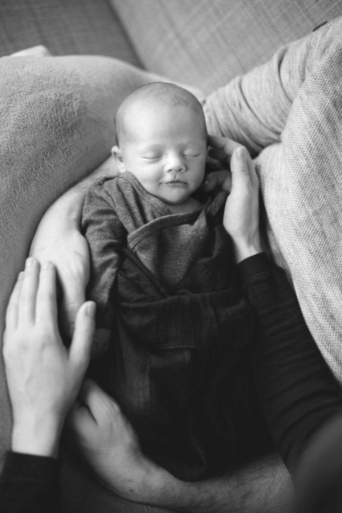 Neugeborenen-Reportage Benjamin