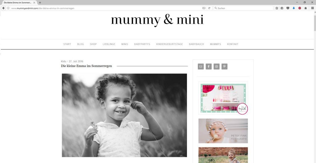 Veröffentlichung Mummy & Mini
