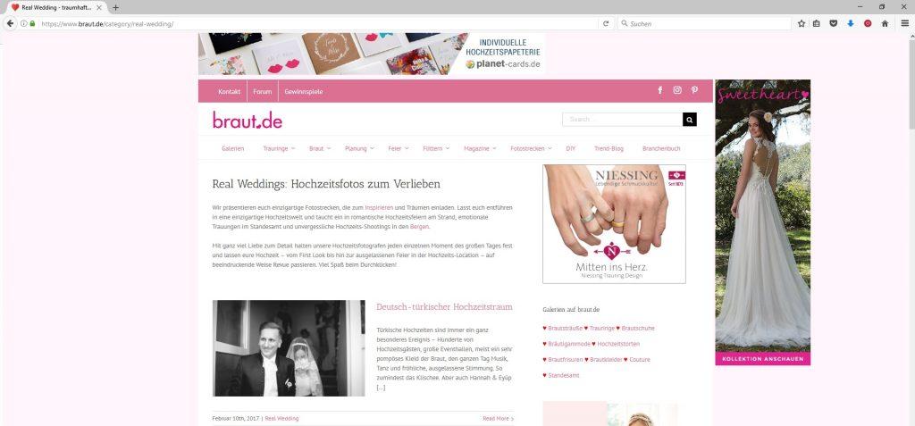 Veröffentlichung braut.de